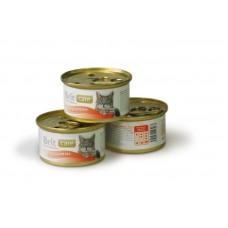 Brit Care Chicken Breast Брит консервы для кошек Куриная грудка, 80гр. (05119)
