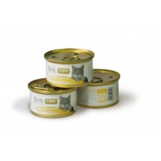 Brit Care Chicken Breast & Cheese Брит консервы для кошек Куриная грудка и сыр, 80гр. (05120)