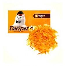 DeliPet для кошек строганина из курицы, 50 гр. (0495)