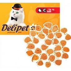 Делипет Лакомство для кошек Суши с курицей и минтаем, 50г (0592)