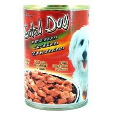 Edel Dog Консервы для собак нежные кусочки в соусе с кроликом