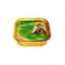 Эдель Кэт (Edel Cat) Консервы для кошек, паштет с Кроликом