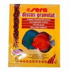 Сера 0308 Discus Granulat Корм для дискусов, гранулы 12г (15967)