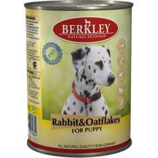 Беркли конcсервы для собак Кролик с овсянкой 400гр. (75072/P12198)
