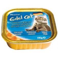 Эдель Кэт (Edel Cat) Консервы для кошек, паштет с Лососем и форелью