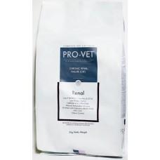 PRO-VET Renal 3 кг (Разработан для взрослых кошек, страдающих хронической почечной недостаточностью.)