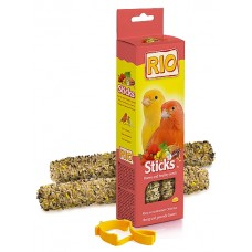 RIO. Палочки для канареек с медом и полезными семенами (39022)