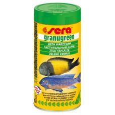 Сера 0391 Granugreen Корм для растительноядных цихлид, гранулы 20г (15991)