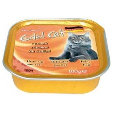 Эдель Кэт (Edel Cat) Консервы для кошек, паштет с Птицей