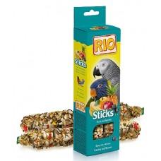 RIO. Палочки для попугаев с фруктами и ягодами 150гр. (39024)