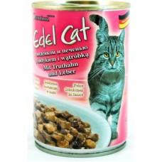 Эдель Кэт (Edel Cat) Консервы для кошек, индейка и печень