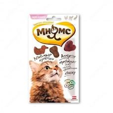 Мнямс Лакомые кусочки для кошек Мясное ассорти Курица, Ягненок, Утка, 35г (700453)