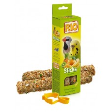 RIO. Палочки для волнистых попугайчиков и экзотов с тропическими фруктами 80гр. (39026)