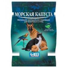АВЗ Морская Капуста для кoшeк, coбaк и птиц, 100г. (13631)