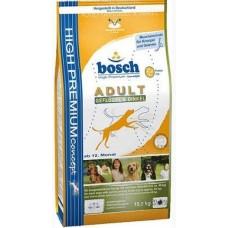 Бош Adult сухой для собак Птица/спельта 15 кг (00789)