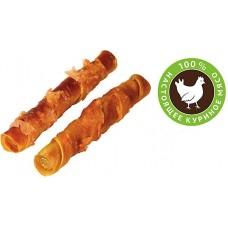 Деревенские лакомства для собак Куриные твистеры сушеные 100г (79711243)