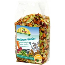 JR FARM Wellness Лакомство для грызунов Овощные хлопья, 600г. (05569)
