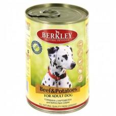 Беркли консервы для собак Говядина с картофелем 400гр. (75019/P12632)