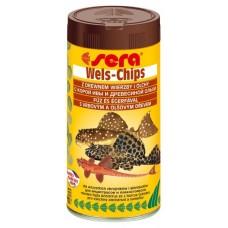 Сера Wels-Chips Корм для лорикариевых сомов, чипсы