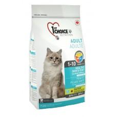 1st Choice HEALTHY SKIN & COAT для кошек Здоровая кожа и шерсть с лососем