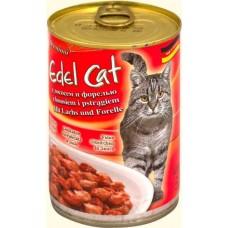 Эдель Кэт (Edel Cat) Консервы для кошек, лосось и форель