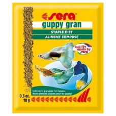 Сера 0712 Guppy Gran Корм для гуппи, гранулы 10г (37974)
