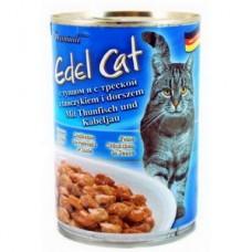 Эдель Кэт (Edel Cat) Консервы для кошек, тунец и треска