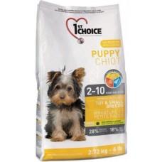 1st Choice PUPPY TOY & SMALL BREEDS для щенков миниатюрных и малых пород