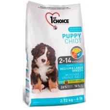 1st Choice PUPPY MEDIUM & LARGE BREEDS для щенков средних и крупных пород