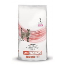 Purina Pro Plan Veterinary Diets DM DIABETES корм для кошек при диабете 1,5 кг (P21390)