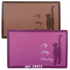 "Trixie Коврик под миску ""My Kitty Darling"", 44х28см (P24222)"