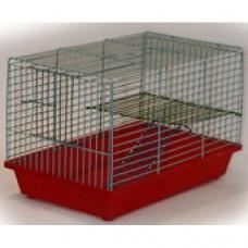 Zoo Mark Клетка для джунгариков двухэтажная, 36*24*23см (111)