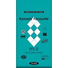 Kennels` Favourite M-5 Холодно-прессованный корм (Говядина) с глюкозамином и хондраитином Pellet 15 kg