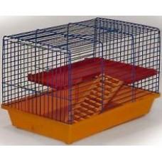 Zoo Mark Клетка для грызунов 2-х этажная, 36*24*27см. (120)