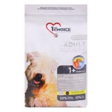 1st Choice ADULT HYPOALLERGENIC для собак гипоаллергенный с уткой и картофелем