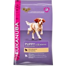 Eukanuba Корм для щенков с ягненком  и рисом (Puppy&Junior Lamb&Rice)