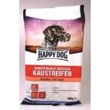 Happy Dog лакомство для собак жевательные полоски индейка, 200гр. (89596)