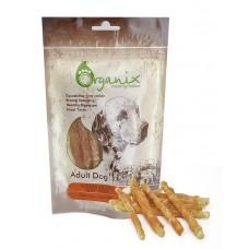Organix Лакомство для собак «Твистеры куриные» (100% мясо) (Chicken fillet/ twist stick) 100 гр