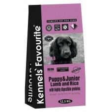Kennels` Favourite PUPPY & JUNIOR Lamb and Rice для щенков всех пород ягненок рис 30/16