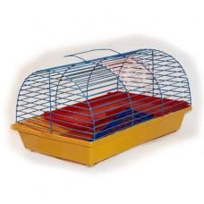 ZooMark Клетка для грызунов полукруглая, 36*24*22см. (110)