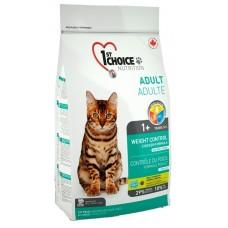 1ST Choice WEIGHT CONTROL Контроль веса для кастрированных и стерильных кошек