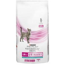 Purina Pro Plan Veterinary Diets UR ST/OX URINARY корм для кошек при болезнях нижних отделов мочевыводящих путей, океанической рыбой