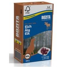 BOZITA Elk Tetra Pak кусочки в желе с мясом лося для собак, 480гр. (4255)