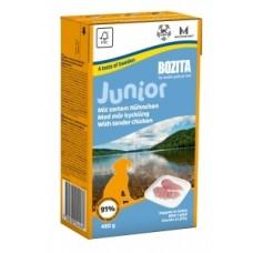 BOZITA for Junior in Jelly Chicken кусочки в желе для щенков и молодых собак с курицей, 480 гр. (4256)