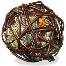 JR FARM Лакомство для грызунов Ивовый шар с сеном и календулой, 80г. (07709)