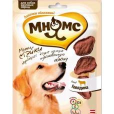 Мнямс Стейки для собак крупных пород с Говядиной, 75г. (700224)