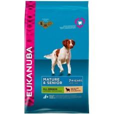 Eukanuba Корм для пожилых собак с ягненком и рисом (Mature&Senior Lamb & Rice)