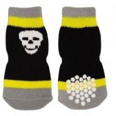 Носочки черно-желтые