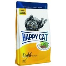 Хэппи Кэт корм для взрослых кошек низкокалорийный (Adult Light)