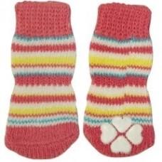Носочки розовые